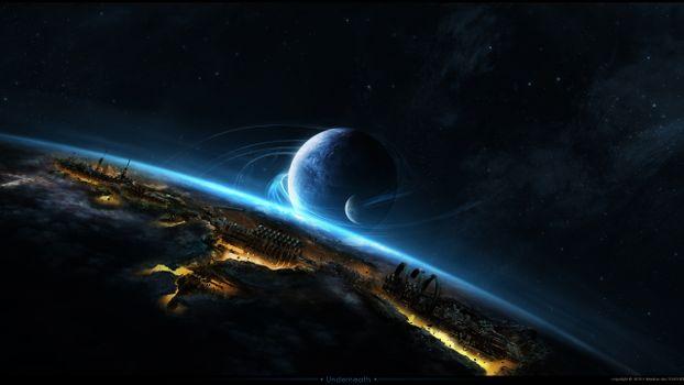Фото бесплатно другие миры, планеты, жизнь