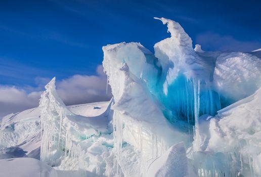 Photo free Antarctica, glacier, snow