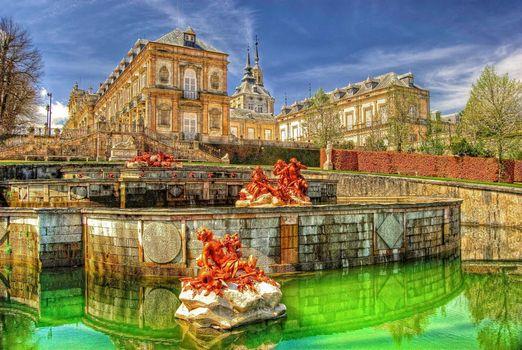 Фото бесплатно Королевский дворец, Сеговия, Испания