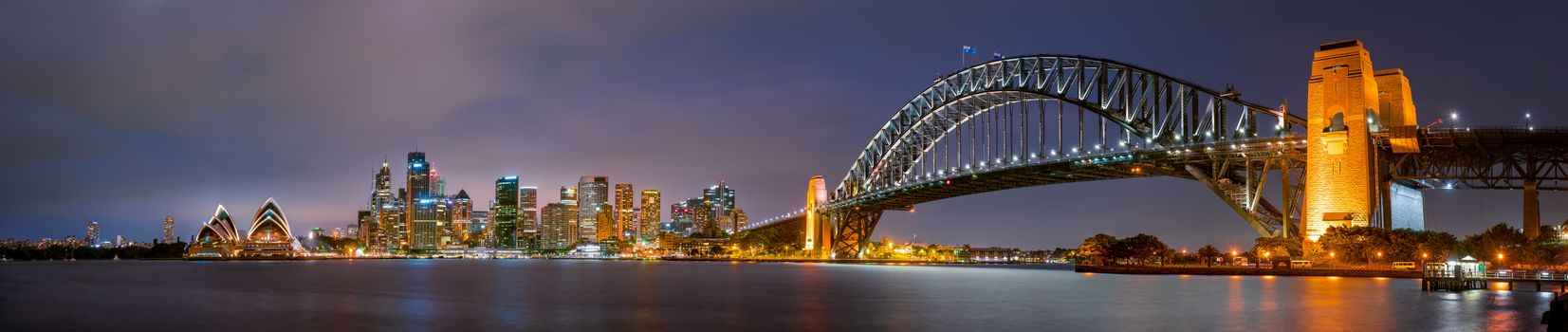 Photo free Sydney Bridge, city, Sydney
