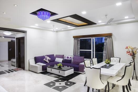 Photo free ceiling, living room, estate