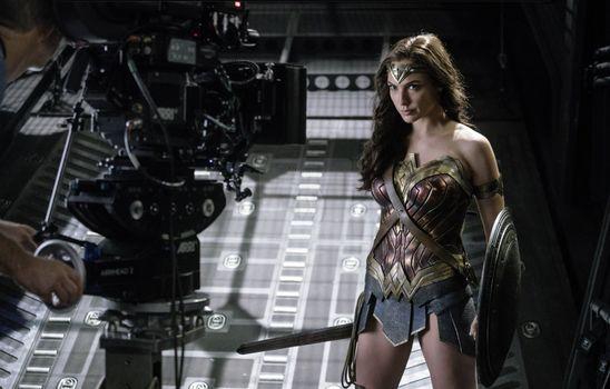 Заставки Wonder Woman, супергерои, 2017 фильмы