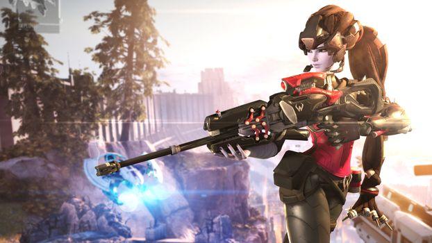 Заставки Overwatch, игра, Deviantart