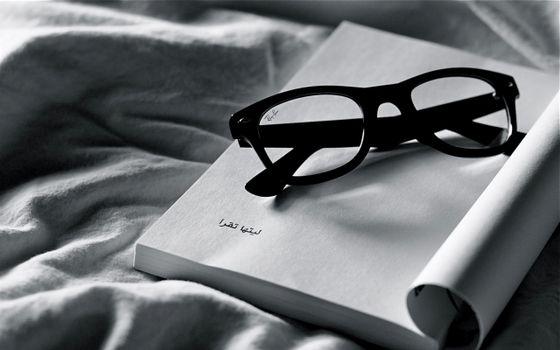 Photo free brand, glasses, cloth