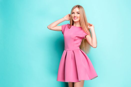 Photo free colored background, cute, smile cute