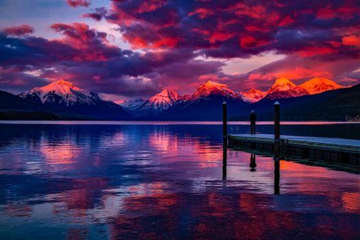 Photo free reserve, lake, landscapes