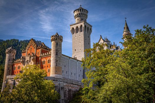 Photo free cities, Bavaria, Neuschwanstein