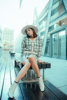 Photo free woman, hat, legs