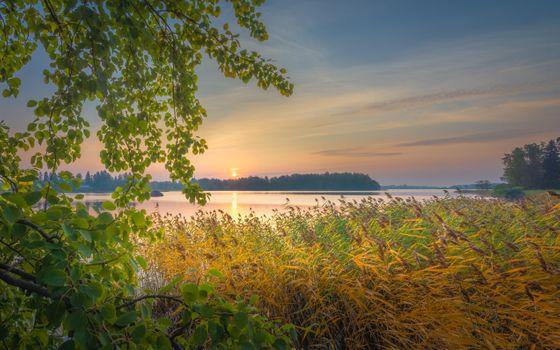 Заставки Юрки, пролив, Финляндия