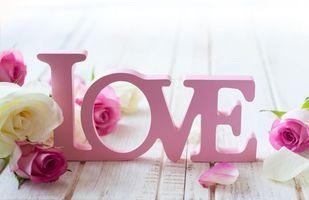 Заставки цветы, розы, валентинка