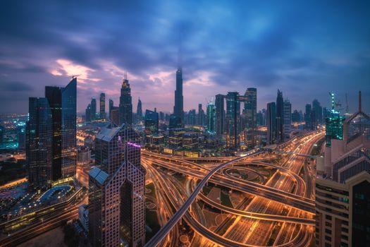 Photo free Dubai, United Arab Emirates, city