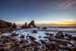 Заставки Морская арка, графство Донегал, Ирландия