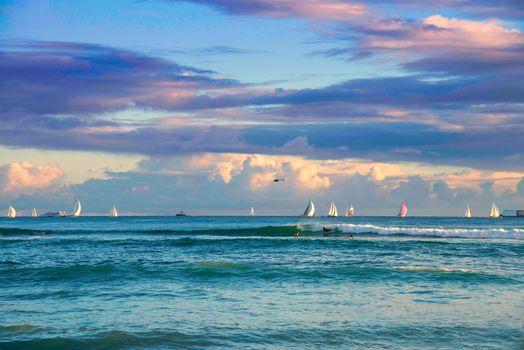 Красивые картинки пейзаж, яхты бесплатно