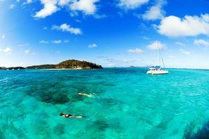 Фото бесплатно море, яхта, отдых