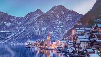 Бесплатные фото Хальштатт, Гальштат, Австрия, Зальцкаммергут