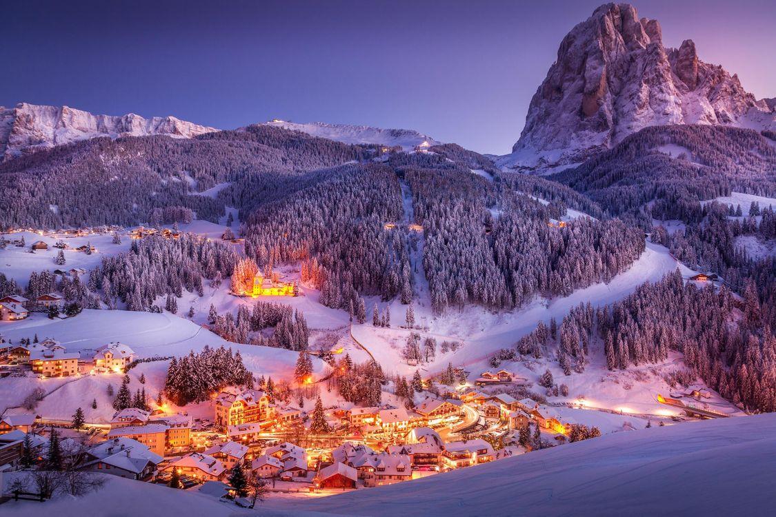 Фото бесплатно Italy, Dolomites, Landscape - на рабочий стол