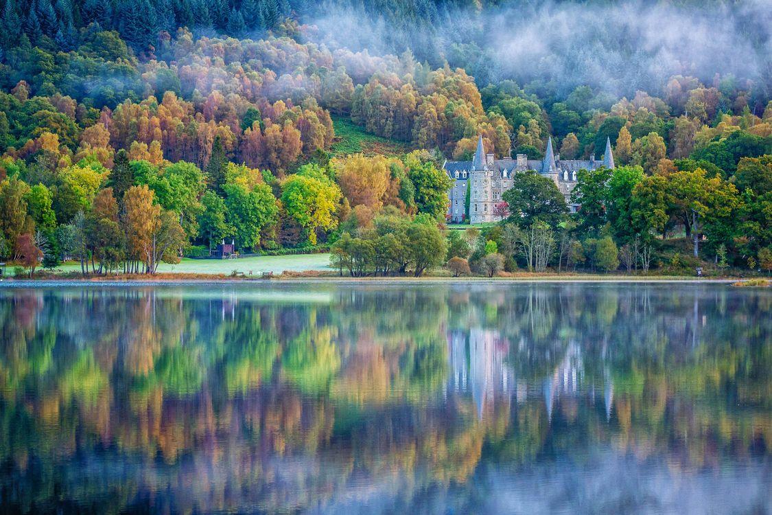 Фото бесплатно Шотландия, Великобритания, озеро - на рабочий стол