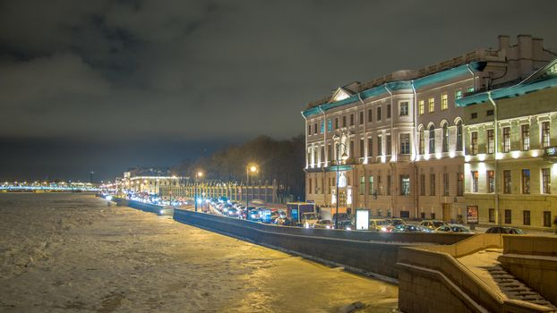Kutuzova embankment, St Petersburg