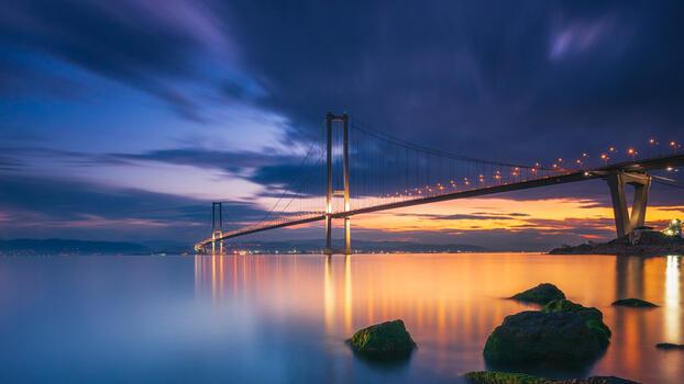 Фото бесплатно мост, городской пейзаж, пейзаж