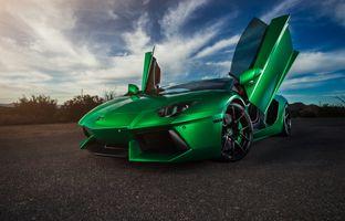 Фото бесплатно автомобиль, Lamborghini, Ламборгини Авентадор