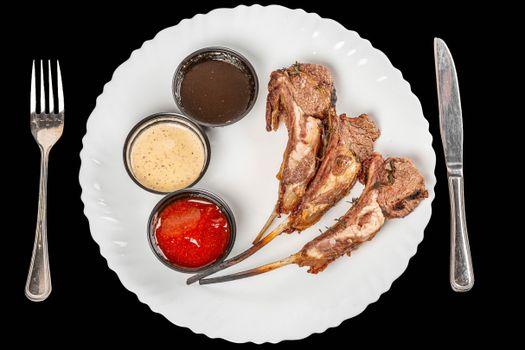 Фото бесплатно еда, нож, кетчуп