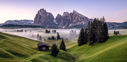 Фото бесплатно туман, природа, утро