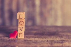 Фото бесплатно Кубики, любовь, сердце
