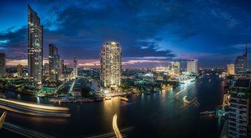 Бесплатные фото Река Чао Прайя, Таиланд, Бангкок