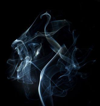 Photo free smoke, shroud, dark background