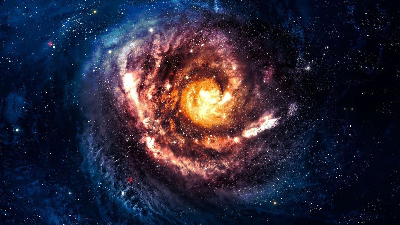 Фото бесплатно звезды, туманности, галактики - на рабочий стол