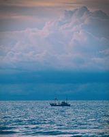 Бесплатные фото корабль,море,горизонт,облака,ship,sea,horizon