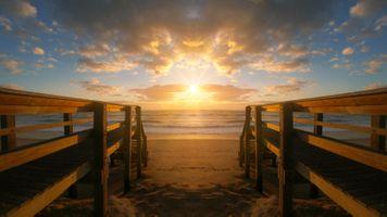 Бесплатные фото закат солнца,воды,рассвет,мост,пирс,море,размышления