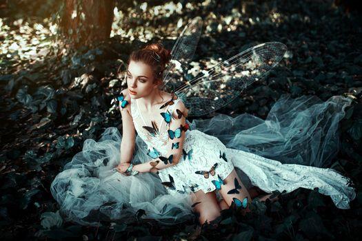 Заставки фея, модель, крылья