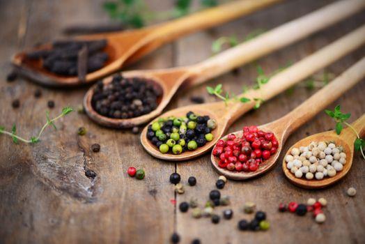 Бесплатные фото ложки,продукты питания,специи,перец