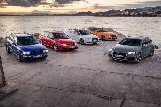 Photo free Audi RS4, 2017 cars, Audi RS2