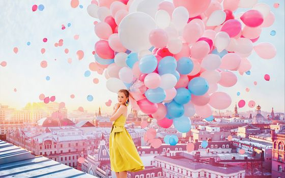 Photo free photos, model, balloons