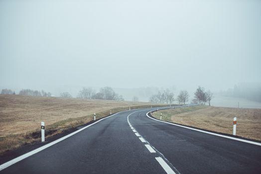 Photo free landscape, outdoor, fog