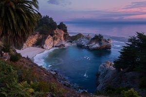 Бесплатные фото McWay Falls,Big Sur,California,Julia Pfeiffer Burns State Park,McWay Cove Beach,Биг-Сюр,Калифорния