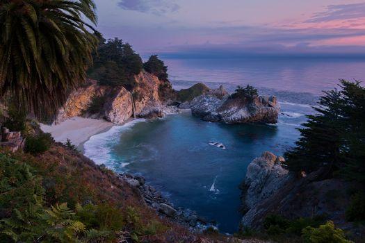 Фото бесплатно море, Калифорния, Джулия Парк Пфайффер Берн