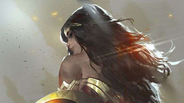 Фото бесплатно Wonder Woman, супергерои, Artist