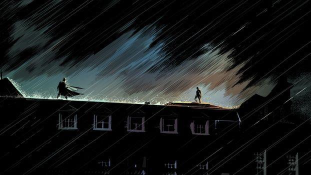 Заставки Batman, Catwoman, супергерои