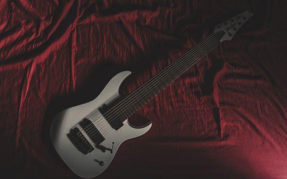 Фото бесплатно гитара, инструмент, музыка