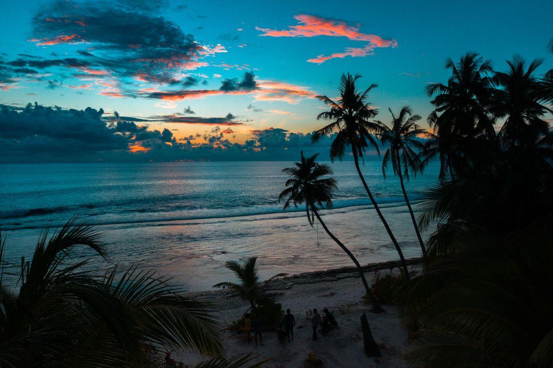 Фото бесплатно тропики, пляж, Восход смотреть - на рабочий стол