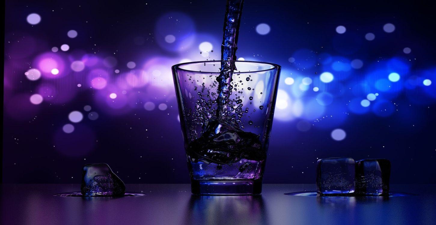Фото бесплатно вода, ночь, темно, напитки