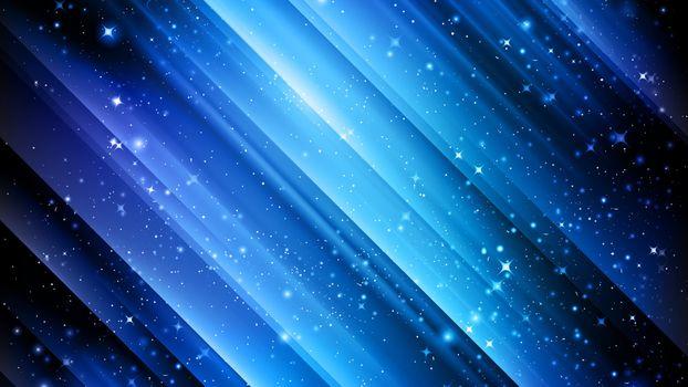Заставки абстрактный, синий, графика