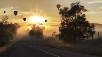 Photo free air ball, sun light, air