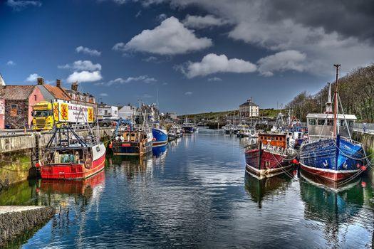Фото бесплатно города, Шотландии, речной катер