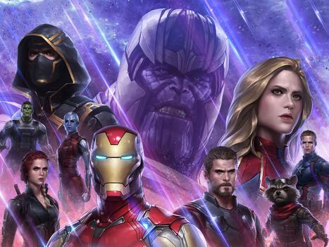 Photo free games, Avengers Endgame, Marvel Future Fight