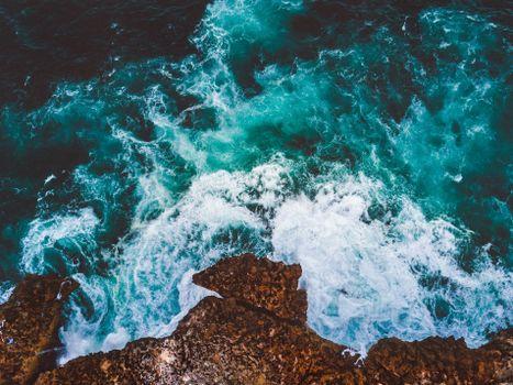 Фото бесплатно море, прибой, пена