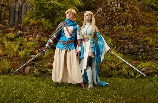 Photo free fantasy, real girls, cosplay